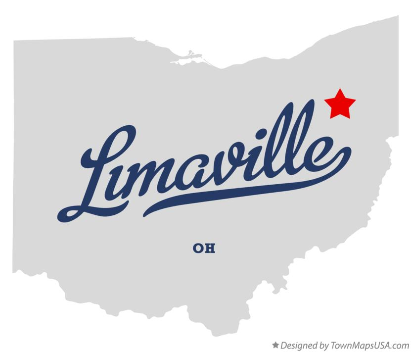 Map of Limaville Ohio OH