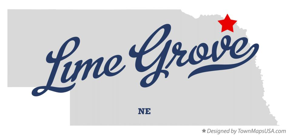 Map of Lime Grove Nebraska NE