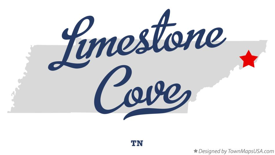 Map of Limestone Cove Tennessee TN