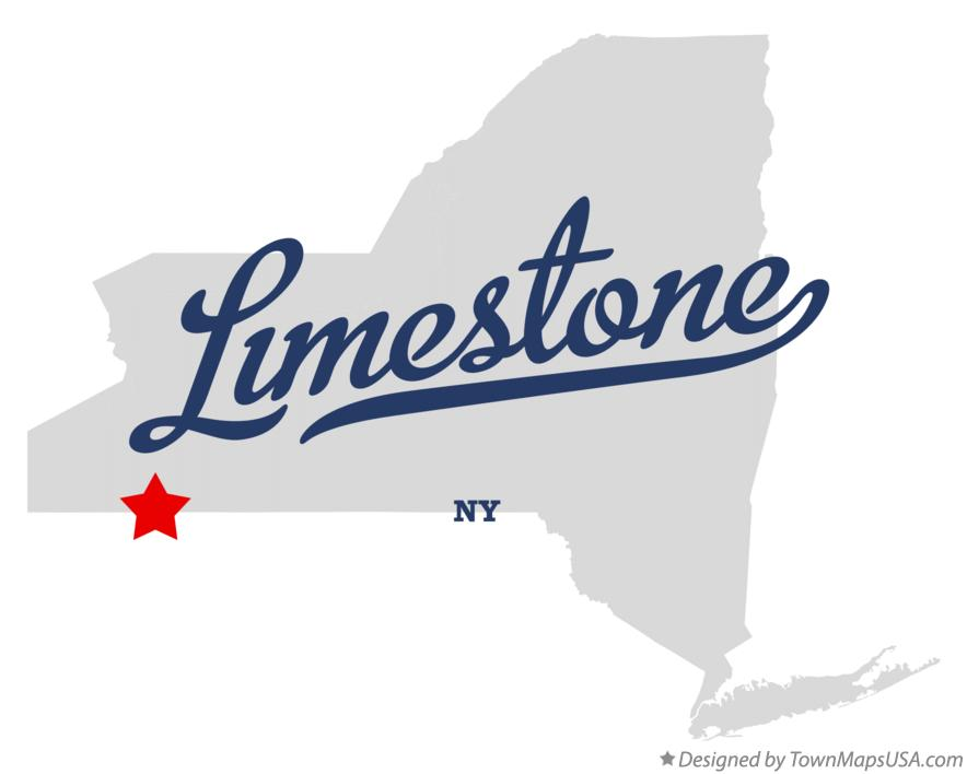 Map of Limestone New York NY