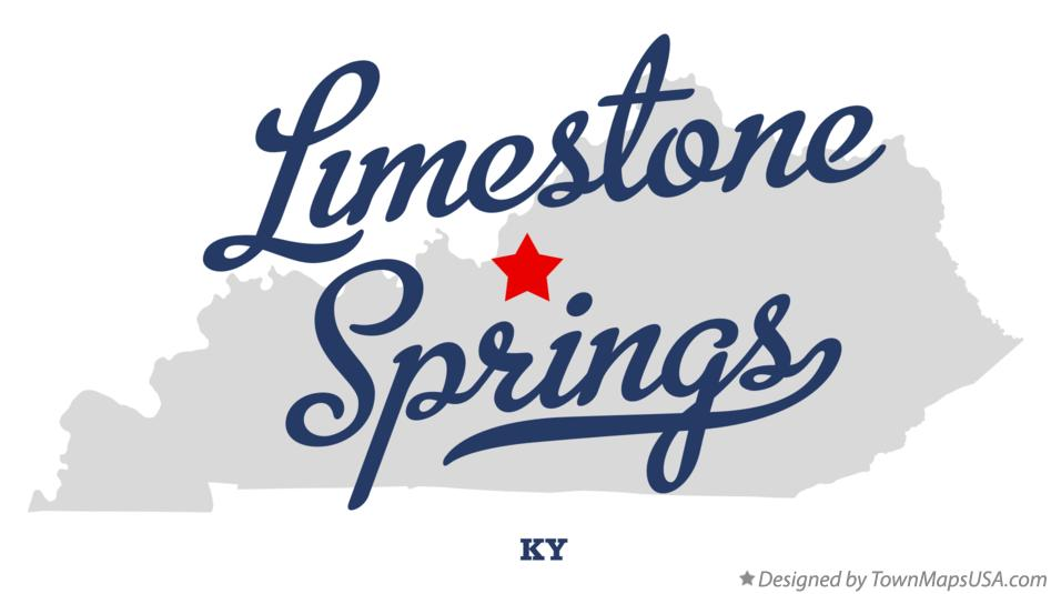 Map of Limestone Springs Kentucky KY