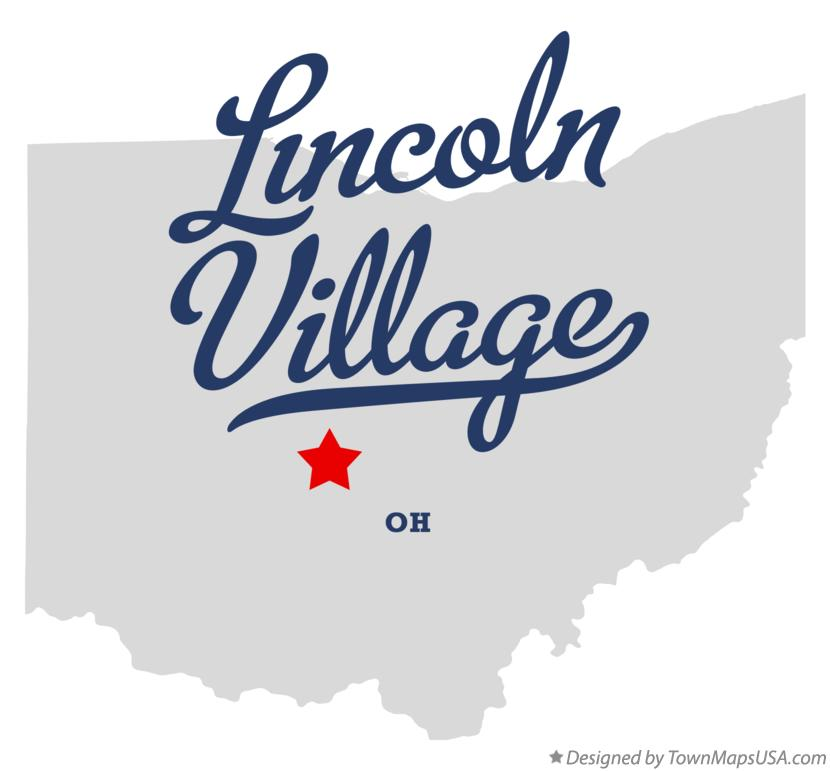 Map of Lincoln Village Ohio OH