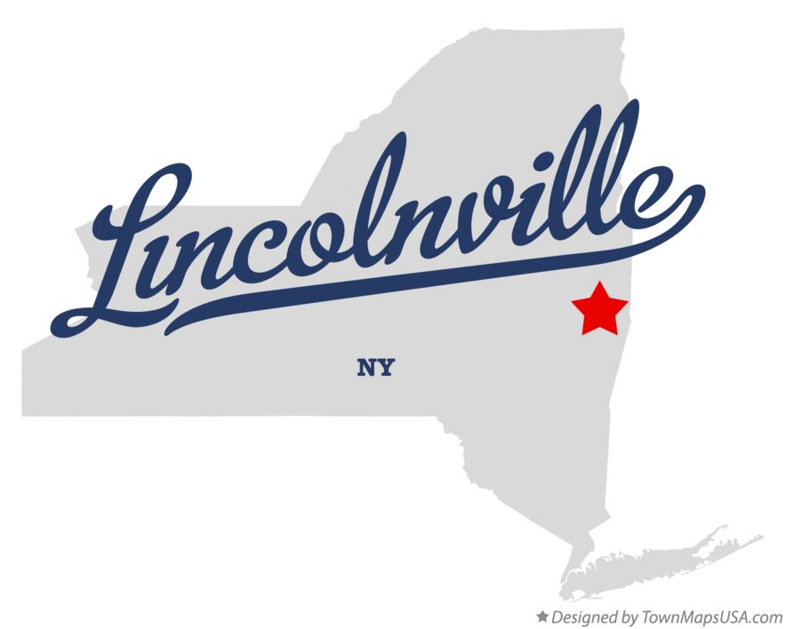 Map of Lincolnville New York NY