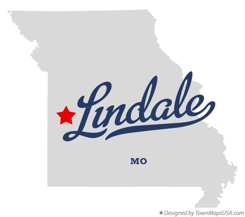 Map of Lindale Missouri MO