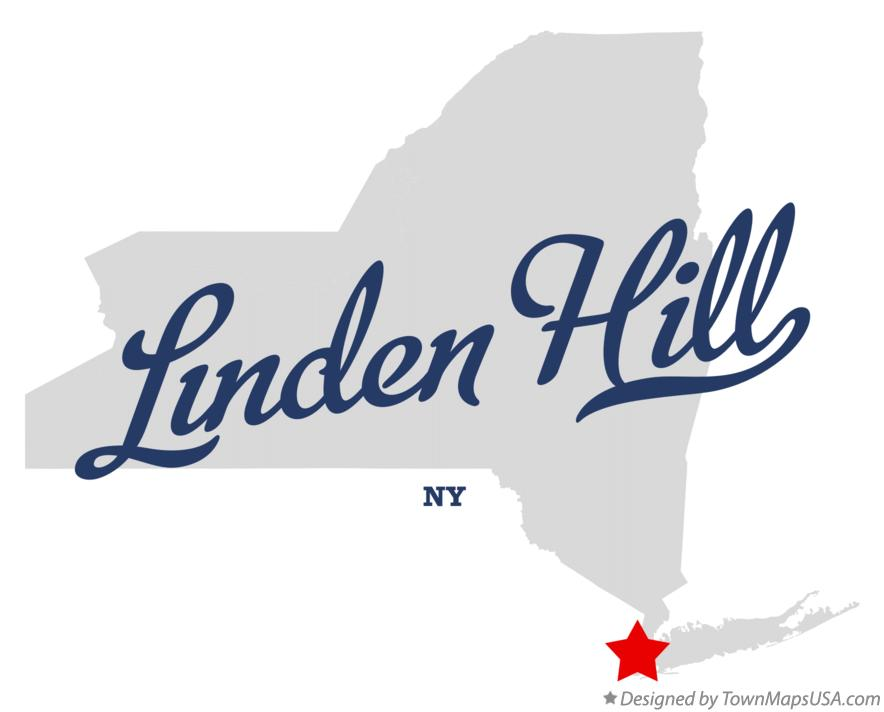 Map of Linden Hill New York NY