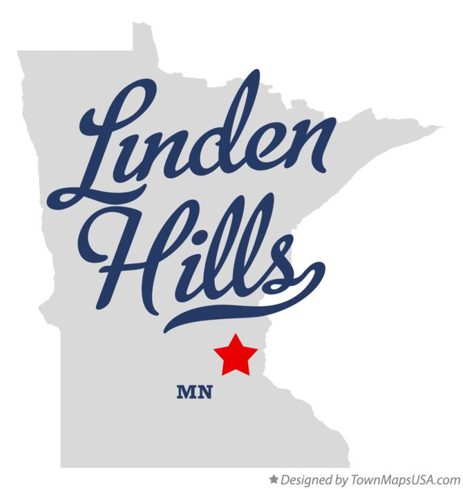Map of Linden Hills Minnesota MN