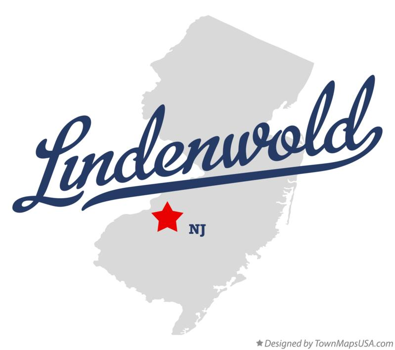 Map of Lindenwold New Jersey NJ