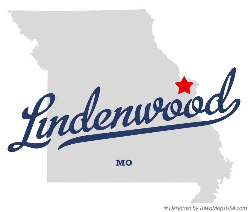 Map of Lindenwood Missouri MO