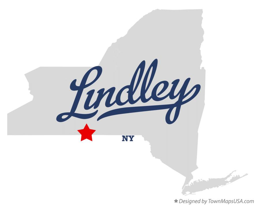 Map of Lindley New York NY
