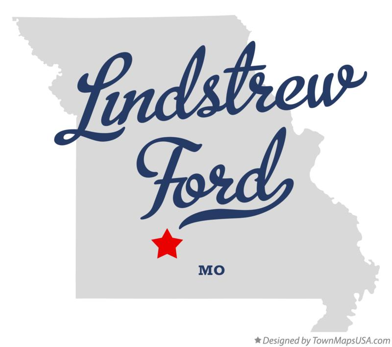 Map of Lindstrew Ford Missouri MO