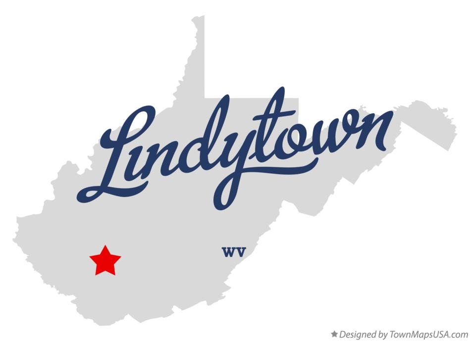 Map of Lindytown West Virginia WV