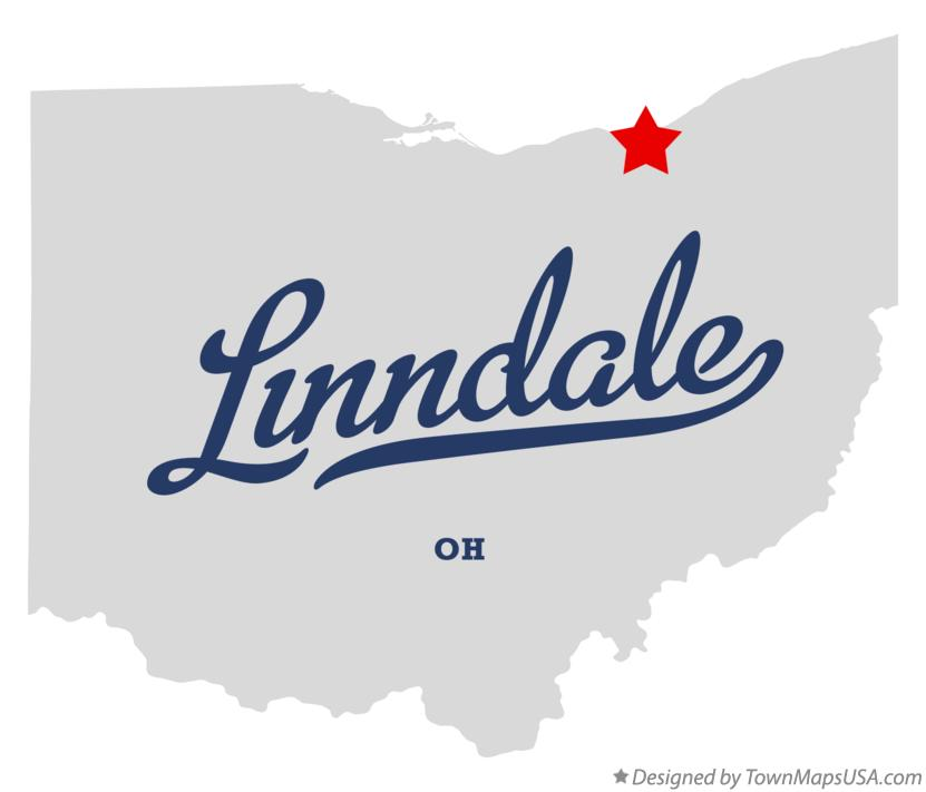 Map of Linndale Ohio OH