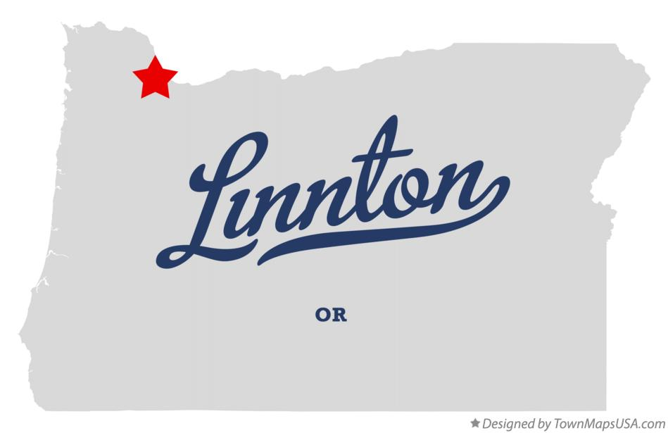 Map of Linnton Oregon OR