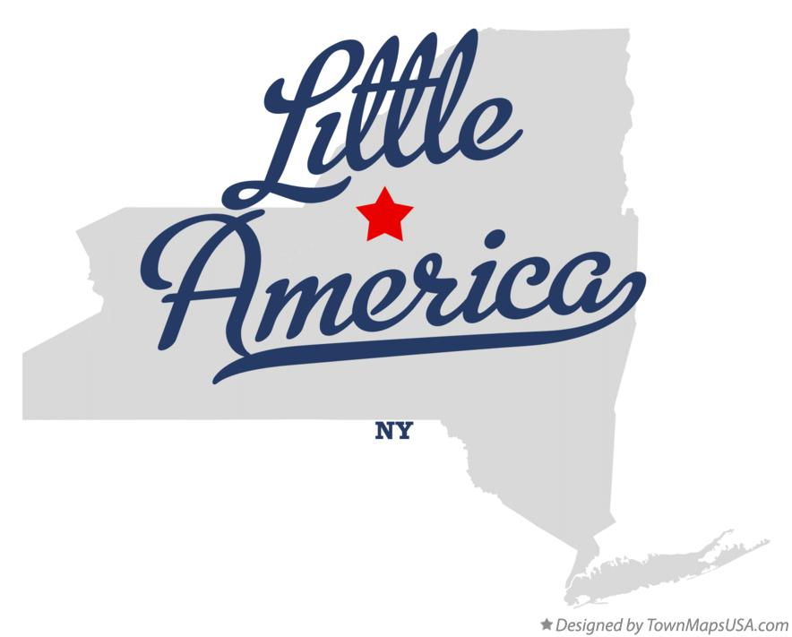 Map of Little America New York NY