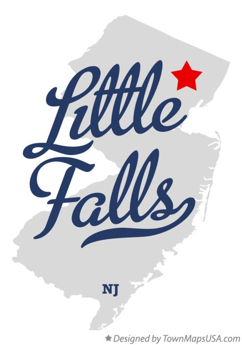 Map of Little Falls New Jersey NJ