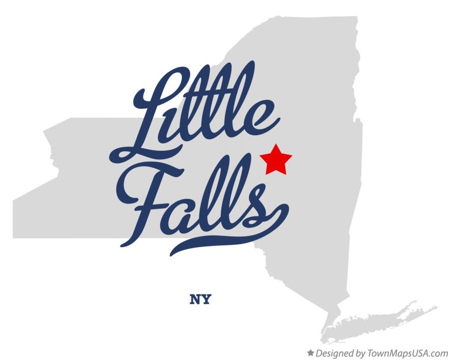 Map of Little Falls New York NY