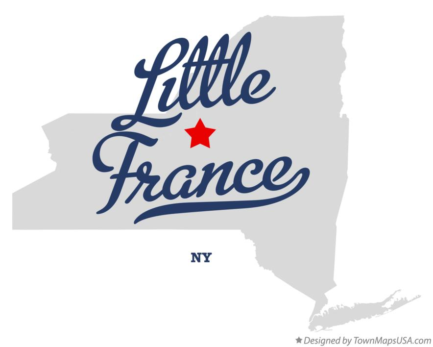 Map of Little France New York NY