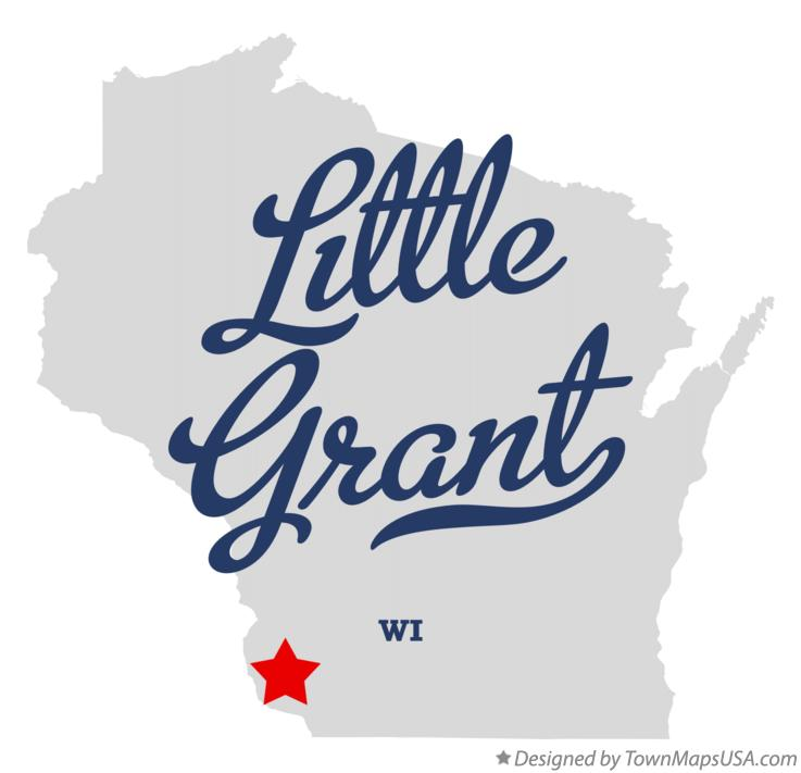Map of Little Grant Wisconsin WI
