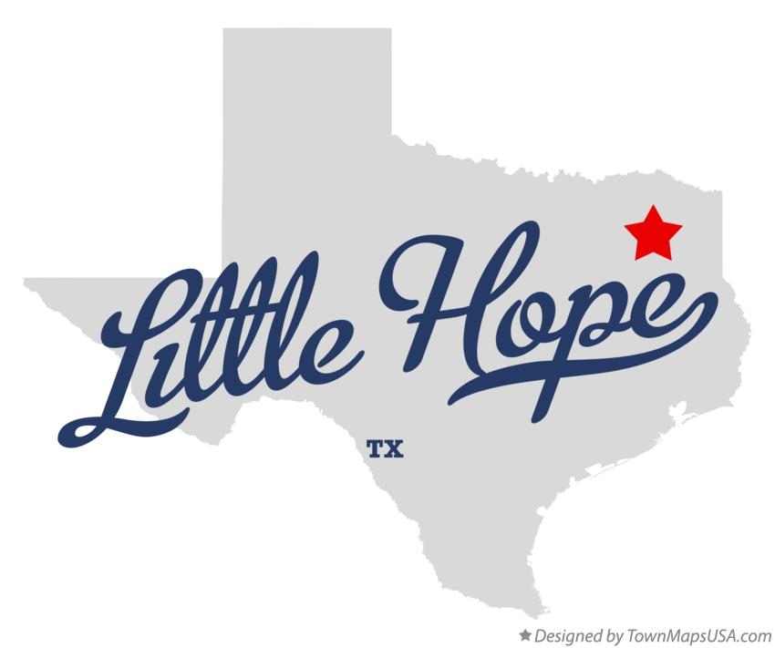 Map of Little Hope Texas TX