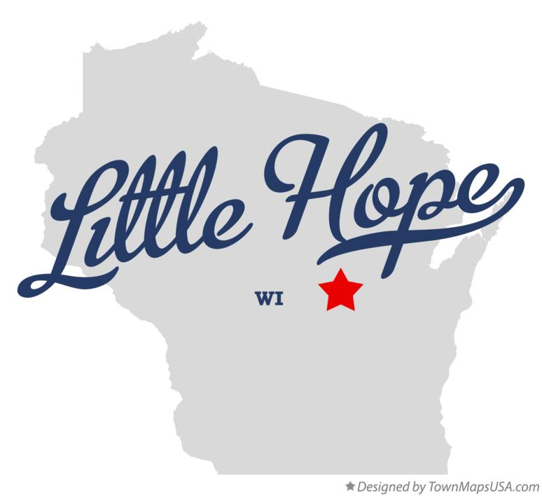 Map of Little Hope Wisconsin WI