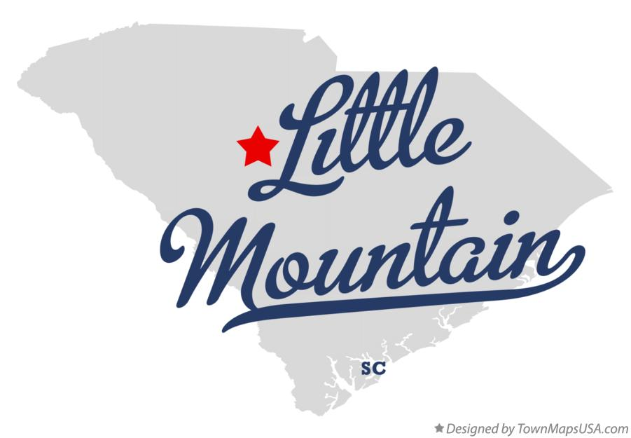 Map of Little Mountain South Carolina SC