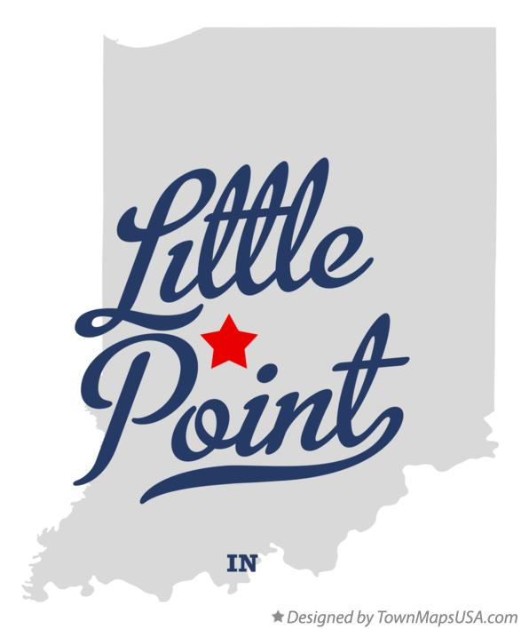 Map of Little Point Indiana IN