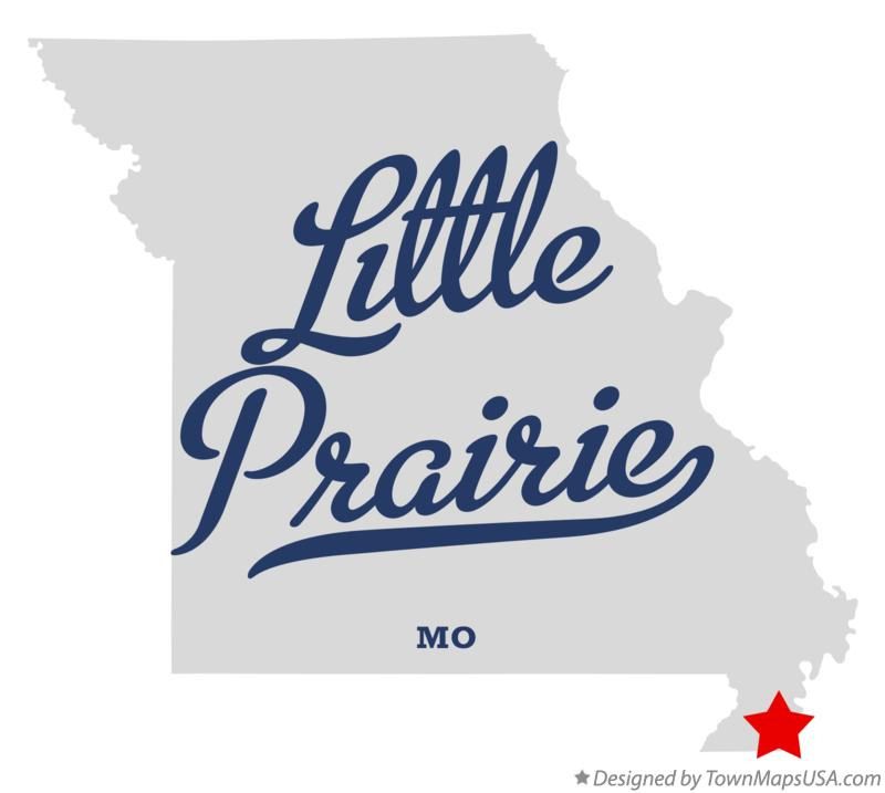Map of Little Prairie Missouri MO