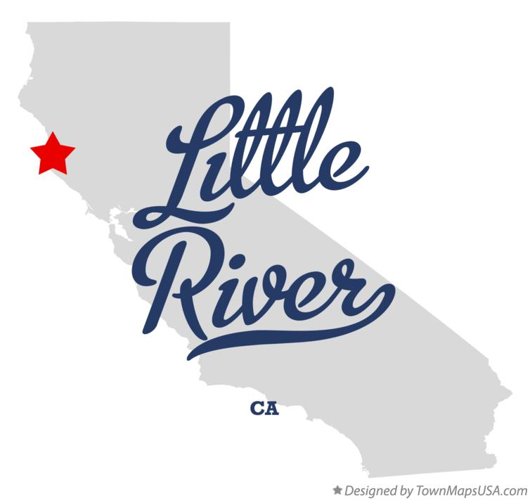 Map of Little River California CA