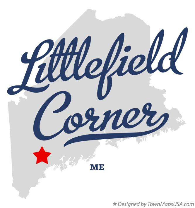 Map of Littlefield Corner Maine ME