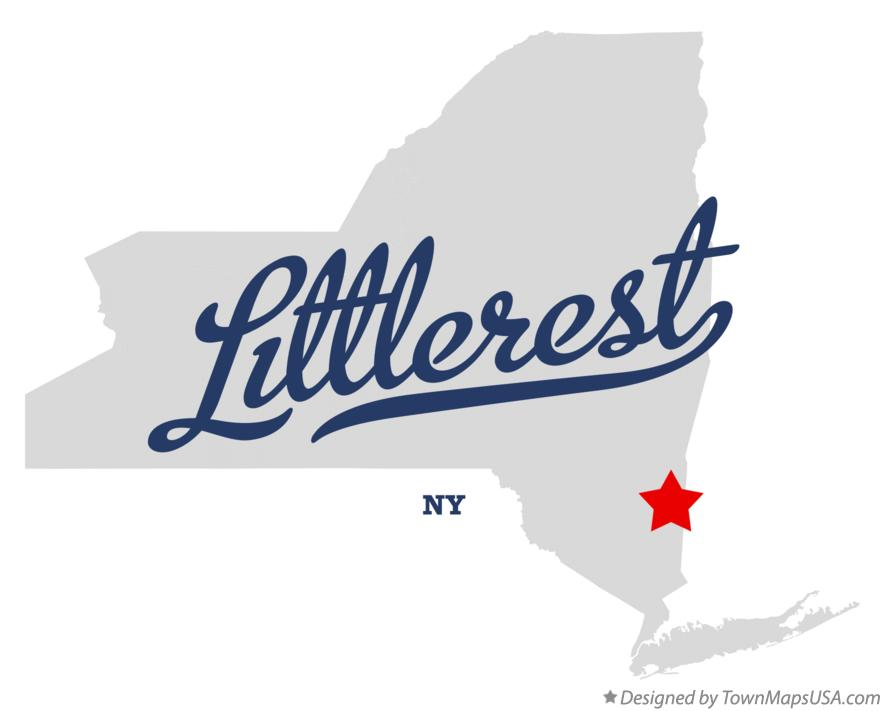 Map of Littlerest New York NY