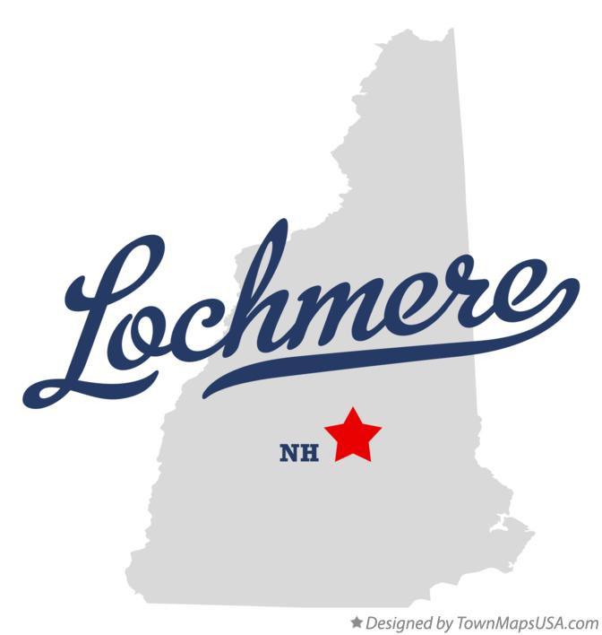 Map of Lochmere New Hampshire NH
