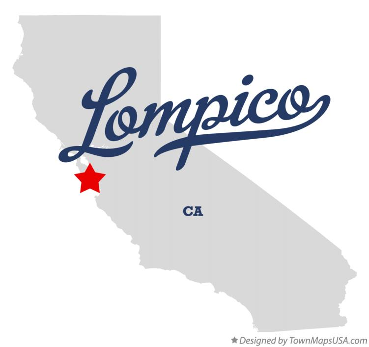Map of Lompico California CA