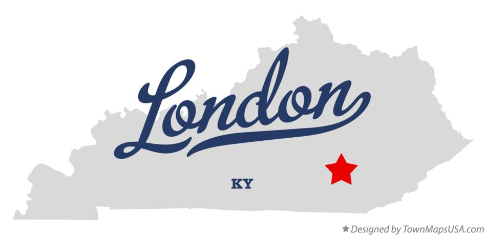 London Ky Map Map of London, KY, Kentucky