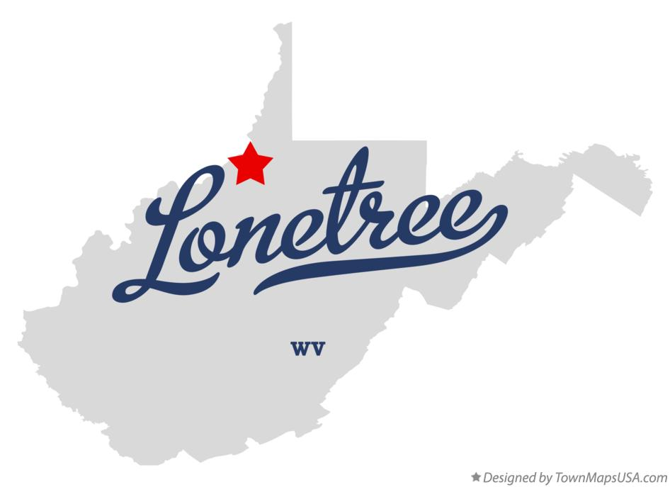 Map of Lonetree West Virginia WV