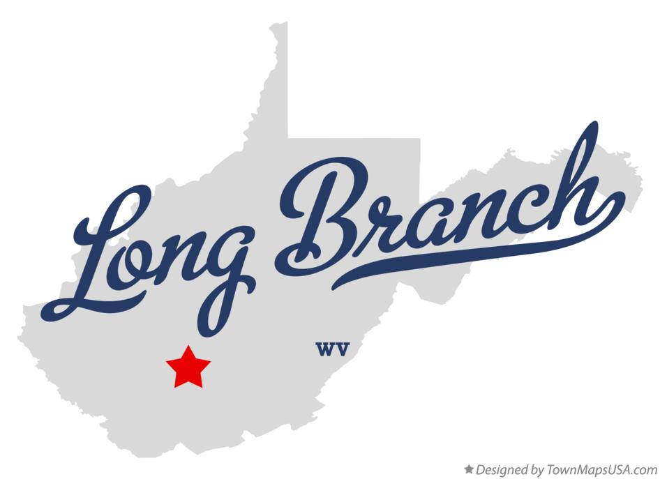Map of Long Branch West Virginia WV
