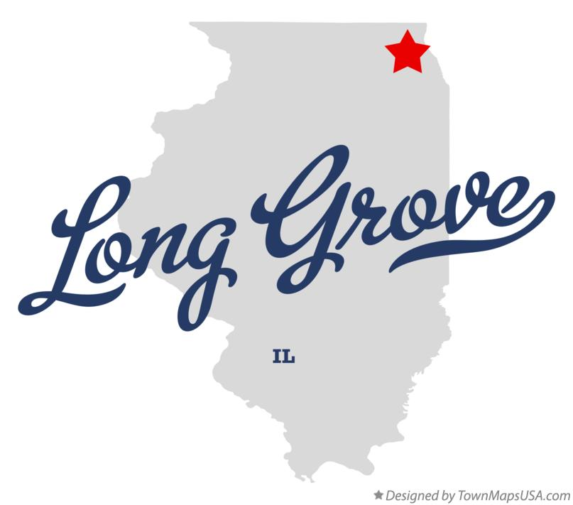 Map of Long Grove Illinois IL