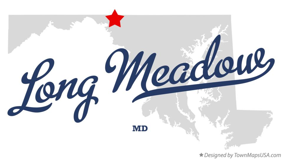 Map of Long Meadow Maryland MD