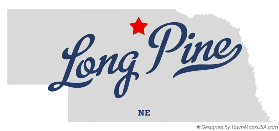 Map of Long Pine Nebraska NE