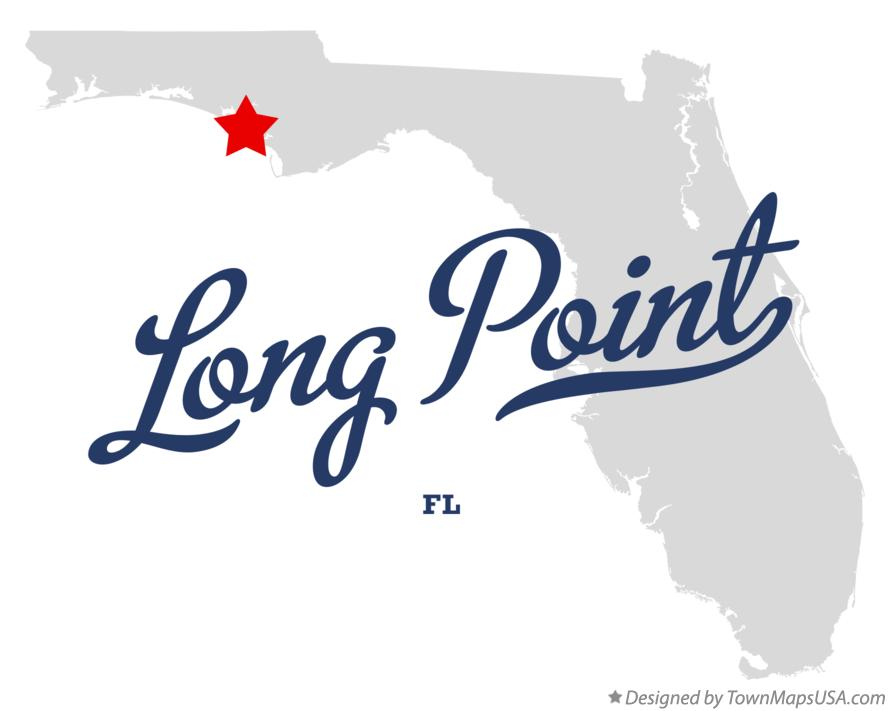 Map of Long Point Florida FL