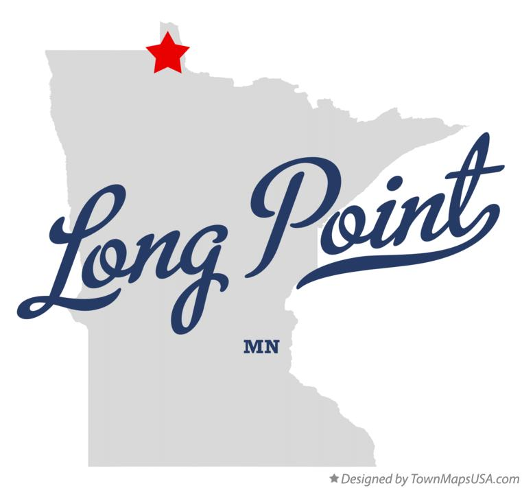 Map of Long Point Minnesota MN