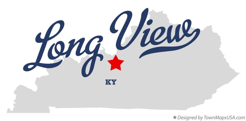 Map of Long View Kentucky KY