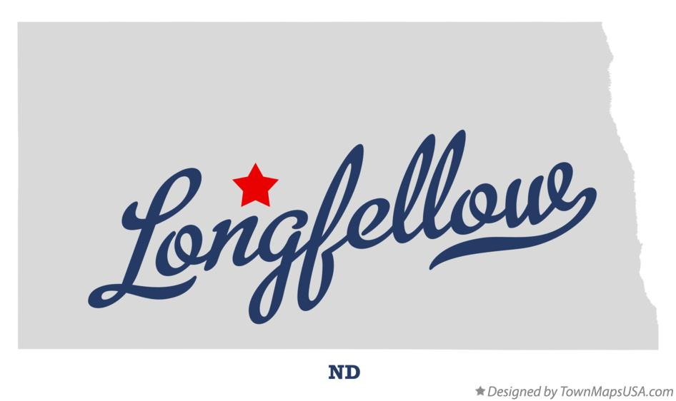 Map of Longfellow North Dakota ND