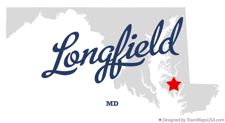 Map of Longfield Maryland MD