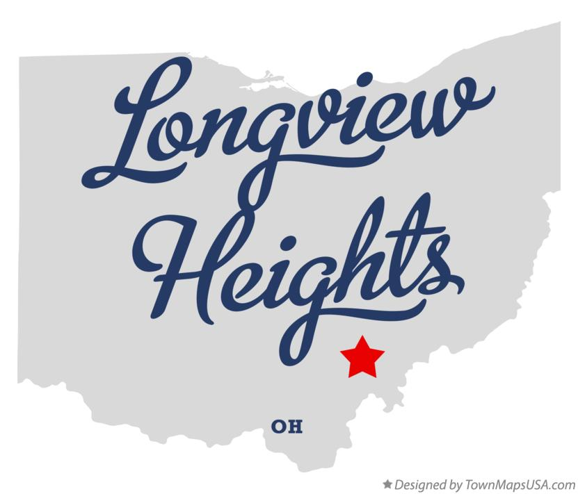 Map of Longview Heights Ohio OH