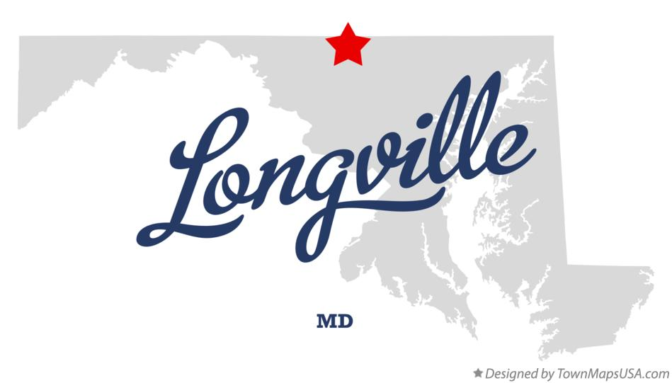 Map of Longville Maryland MD
