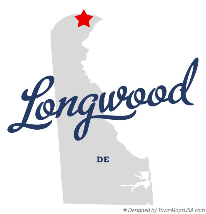 Map of Longwood Delaware DE