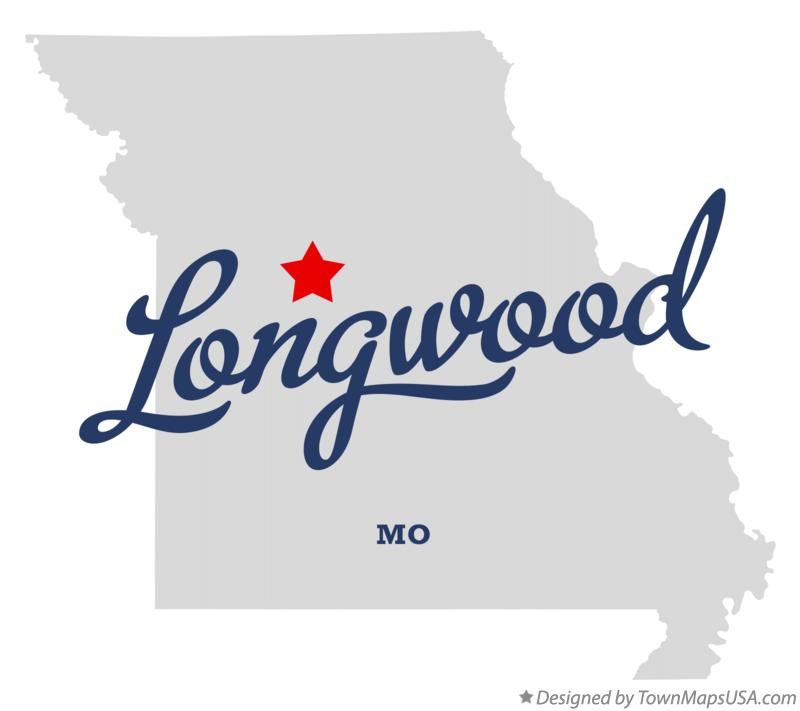 Map of Longwood Missouri MO