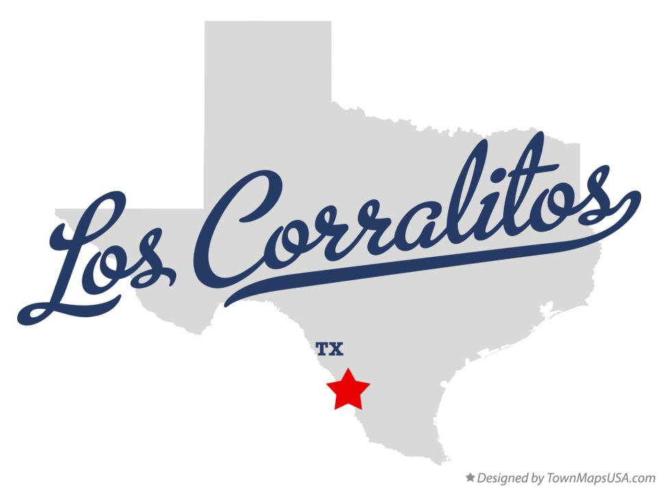 Map of Los Corralitos Texas TX