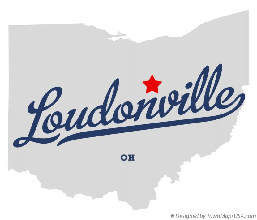 Map Of Loudonville Oh Ohio