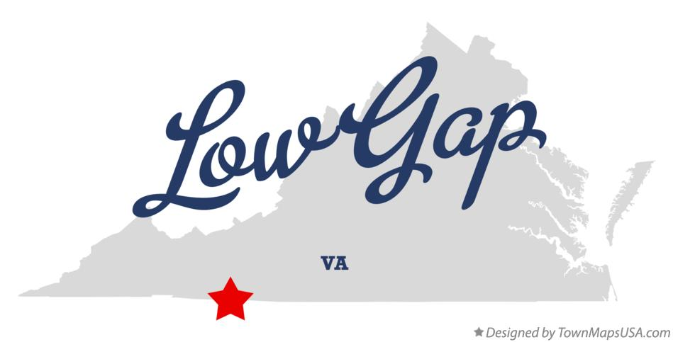 Map of Low Gap Virginia VA